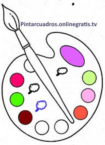 Pintar cuadros for Imagenes de cuadros abstractos para colorear